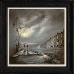 """Bob Barker - We Go Together Like a Wish & a Smile - Canvas On Board, Image Size : 24"""" x 24"""", Edition Size : 195"""
