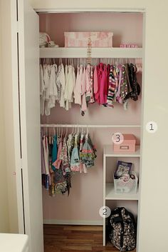 10 Tips For A Cute, Functional, And Clutter Free Baby Closet