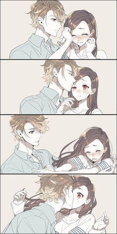 anime, couple and manga Couple Manga, Anime Love Couple, Cute Anime Couples, Anime Couples Hugging, Anime Comics, Anime Kiss, Manga Anime, Anime Cosplay, Kawaii Anime