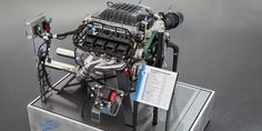 """Dodge has gone mad and we love it. Mopar has officially unveiled the Hellcat-inspired """"Hellephant"""" engine. It's the newest crate engine from Dodge Charger Srt, Dodge Challenger Srt Hellcat, Mopar, Las Vegas, Crate Motors, Crate Engines, Automobile Industry, Cars, Motors"""