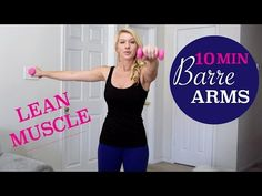 Tone and sculpt the arms with this BARRE Arm Workout! Switch up your routine by adding in barre arm movements to challenge your upper body in new ways. Barre Arm Workout, Insanity Workout, Best Cardio Workout, Workout Challenge, Workout Videos, Arm Workouts, Barre Moves, Pilates Barre, Arm Exercises