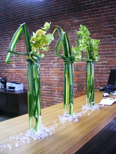 Different centerpieces  zest floral and event design