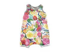 Floral Tank Playsuit  Baby Toddler Romper by HeartlysCloset LEMON, ROMPER, PLAYSUIT, PLAY SUIT, TODDLER, BABY, FASHION, STYLE, SUMMER, SPRING, BABY STYLE, BABY FASION, BABYOOTD, OTTD, TODDLER OTTD, HANDMADE, KIDS STYLE