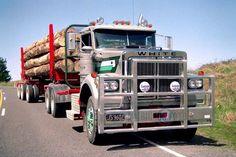 WHITE. ROAD-BOSS, Log-Truck, in N.Z. Western Star Trucks, White Truck, Old Trucks, Volvo, Motorcycles, Boss, Group, Stars, Trucks