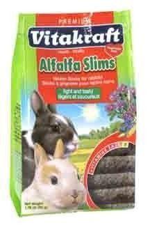 SMALL ANIMAL - CHEWS & TREATS - ALFALFA SLIMS RABBIT 1.76OZ - - Vitakraft Sun Seed, Inc - UPC: 51233256764 - DEPT: SMALL ANIMAL PRODUCTS