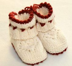 free booties pattern in swedish