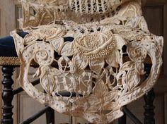 Gorgeous handmade needlework runner