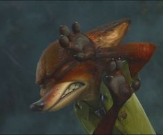 Here is a cropped shot of Nick Wilde from Zootopia. I just like this expression on Nick with his paws up. #zootopia #nickwilde #zootopianickwilde #zootopia_disney