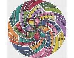 Mandala 15 - Intention - Counted Cross Stitch Pattern (X-Stitch PDF)