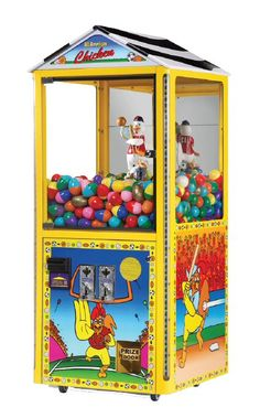 The Claw All American Chicken Vending Machine Arcade Game Cracker Jacks, Childhood Toys, Childhood Memories, Vending Machines For Sale, Retro Arcade Games, Antique Desk, Play Spaces, Chicken Eggs, Vintage Toys