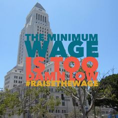 social media post: the minimum wage is too damn low