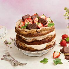 Geisha, Yummy Drinks, Yummy Cakes, Tiramisu, Tart, Food And Drink, Sweets, Dishes, Easy Bakes