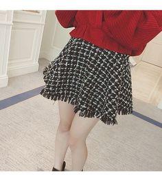 New Autumn Tassel Skirt, Php423.00