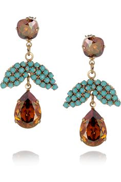 Amber and turquoise, so pretty. :-)