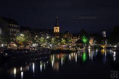 Strasbourg - Quai des Pêcheurs | par Julien Ruff Photos | #Strasbourg #Alsace #France #Quai #Péniches #JulienRuffPhotos