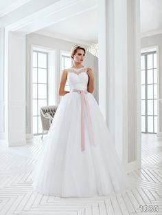 View Dress - Sans Pareil Bridal Collection: 1030 - Sleeveless illusion lace…