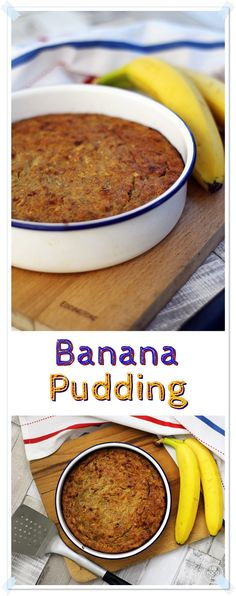 Banana Pudding - a great way to use up overripe bananas and a long time family favourite! Fab Food 4 All #banana #pudding #dessert #thrifty #foodwaste #frugal #vegetarian