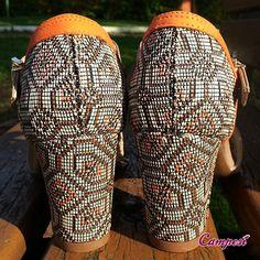 Salto étnico para compor um look no clima do verão! #Campesí #conforto #sandália #moda Compre aqui: lojacampesi.com.br