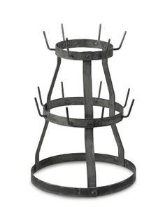 Love this mug rack! Vintage Herisson Rack #WilliamsSonoma Mug Rack, Iron Furniture, Small Kitchen Appliances, Cooking Utensils, Williams Sonoma, Vintage Kitchen, Gourmet Recipes, Kitchen Decor, Coffee Mugs
