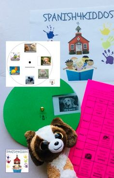 Spanish pet vocabulary adds to students' toolkit of words to know. Use hands-on activities, reading, and interactive games to increase retention of words. Co Teaching, Teaching Strategies, Interactive Activities, Hands On Activities, Writing Practice, Kids Writing, Spanish Lessons, Learning Spanish, New Words In English