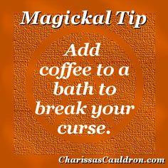 Magickal Tip - Coffee Curse Breaker – Charissa's Cauldron