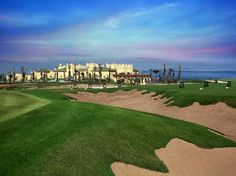 Morocco, Mazagan Beach Resort, Golf & Spa. A fantastic Gary Player links course