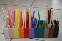 En terre d'enfance: La boîte à crayons...