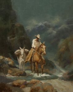 15 Best George's Western Oil Paintings images in 2017