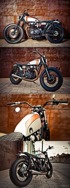 YAMAHA XS650 CAFE BY LA CORONA