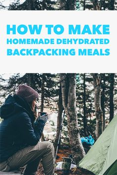 It is easy to make homemade backpacking meals that are healthier and tastier than backpacking meals from Mountain House.