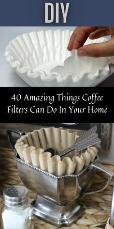 When we think of coffee filters, the only thing that likely comes to mind is using it to filter your coffee. But you're wrong if you're one of those people who think that's true. It's totally not. #40 #Amazing #CoffeeFilters #Home Pork Chop Recipes, Ground Beef Recipes, Shrimp Recipes, Salmon Recipes, Crockpot Recipes, Keto Recipes, Vegetarian Recipes, Chicken Recipes, Meal Prep For The Week