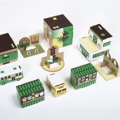 Paper town green - wannekes.nl
