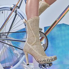 Spin Class, Short Boots, Saks Fifth Avenue, Fendi, Stiletto Heels, Chic, Shoes, Women, Fashion