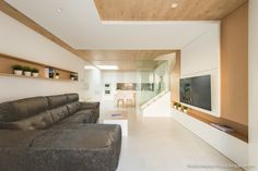 Salas de estilo moderno por Pablo Muñoz Payá Arquitectos