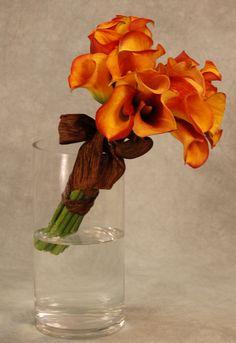 An Autumn Calla Lily Bouquet