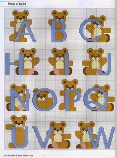 Bears alphabet (1/2)