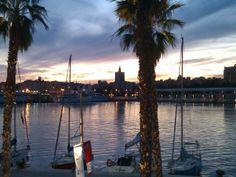 En el nuevo Puerto de Málaga