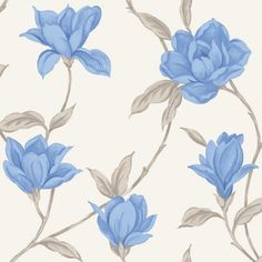 Home Of Colour - Ava - Wallpaper - Marina Blue