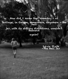the bell jar--Depression never goes away