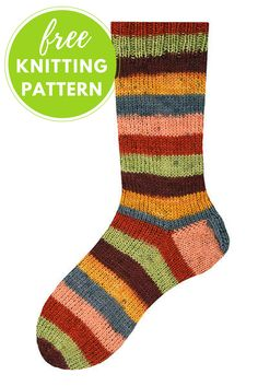 Free Knitting Pattern: Knit Socks from the Toe-Up