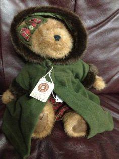 Boyd's Bears Sierra Woodsbeary Boyds Bear Teddy Bears Christmas Bear Gift Winter