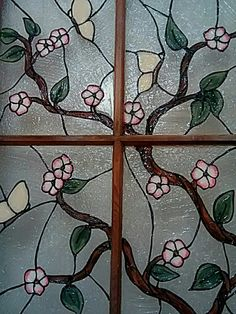 Faux stained glass using acrylic paint and silicone. by Julie Baker-Lowden https://www.facebook.com/MyArtsyFartsySelf