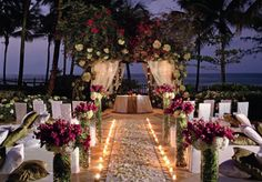 Evening Beach Wedding So