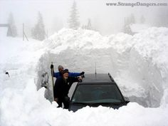 deep snow pictures
