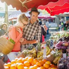 There are very few towns or villages along the French Riviera without their own, special food market. We have just listed a selection of them to sta. Hilo Farmers Market, Eating Organic, Better Half, Budget Meals, Love Is Sweet, International Recipes, Organic Recipes, Superfoods, A Team