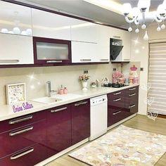 Kitchen Decorating Ideas 2018 Source by Moduler Kitchen, Kitchen Modular, Kitchen Room Design, Modern Kitchen Cabinets, Kitchen Cabinet Design, Home Decor Kitchen, Interior Design Kitchen, Kitchen Furniture, Contemporary Kitchen Design