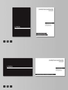 A clean modern business card, perfect for branding your new project. Business Cards Layout, Minimalist Business Cards, Elegant Business Cards, Graphisches Design, Game Design, Design Layouts, Brochure Design, Event Design, Cover Design