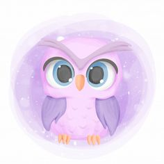Baby Owl Cute Portrait Cartoon Nursery, Adorable, Animal, Art PNG and Vector wit… – Gerry Anton - Baby Animals Owl Cartoon, Baby Cartoon, Cartoon Kids, Cute Cartoon, Baby Owls, Baby Animals, Cute Animals, Baby Baby, Owl Vector