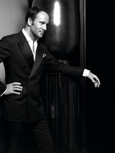 Tom Ford. The best looking fashion designer there ever was. Oh and he's 50 too, hard to believe.
