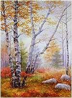 Varvara Harmon - Multimedia artist - Original Watercolor Paintings
